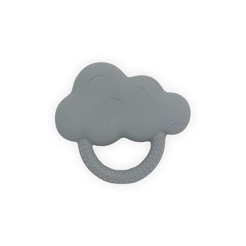 Jollein Bijtring rubber - Cloud storm grey - Bijtringen