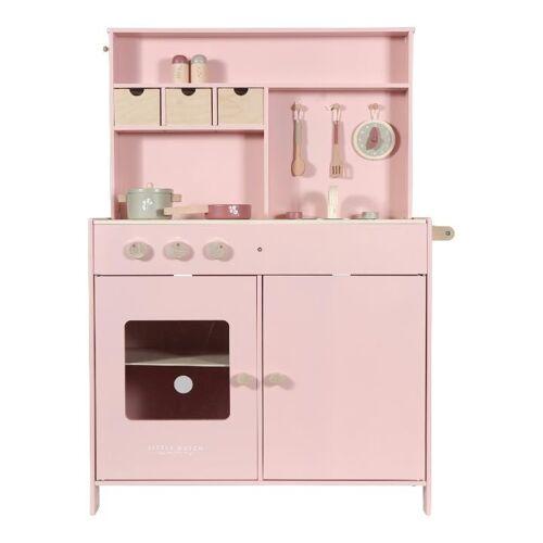 Little Dutch Speelgoed Keuken - Roze - Houten speelgoed