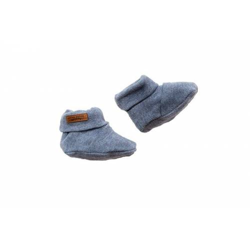 Little Dutch Babyslofjes 15/16 - Blue Melange - Beddengoed