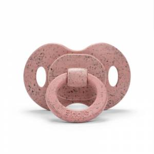Elodie Details Bamboo pacifier 3m+ Silicone - Faded Rose - Fopspenen