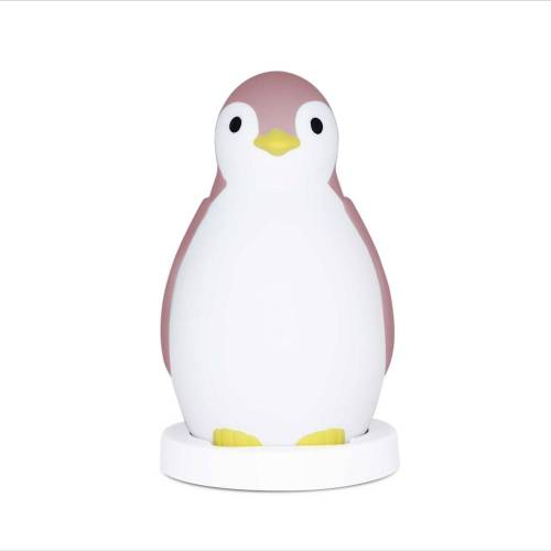 Zazu Slaaptrainer Pinguins - Wit Roze - Nachtlamp slaaptrainer