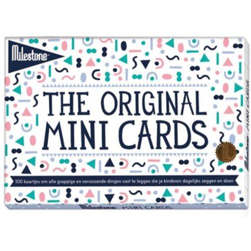 Milestone Mini Cards - Kraamartikelen
