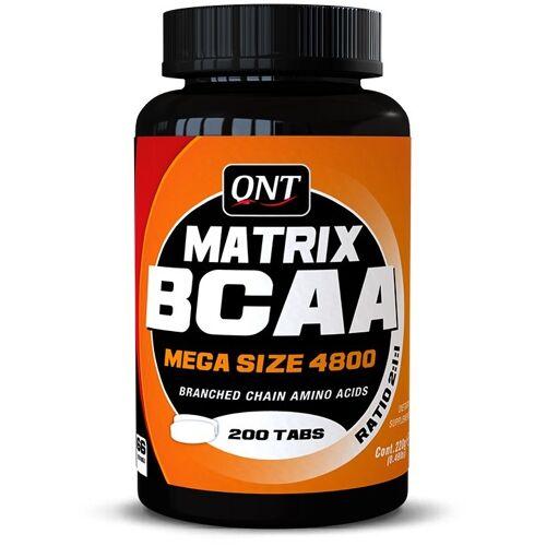 QNT Matrix BCAA 4800 - 200 caps