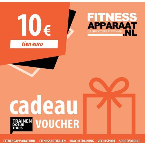 Sporttrader Fitnessapparaat Cadeaubon - 10 euro