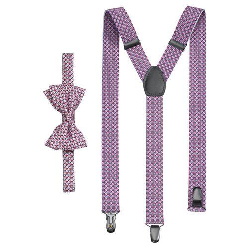 OLYMP Instellen bretels/vlinderdas, Rood  - Size: 2-teilig