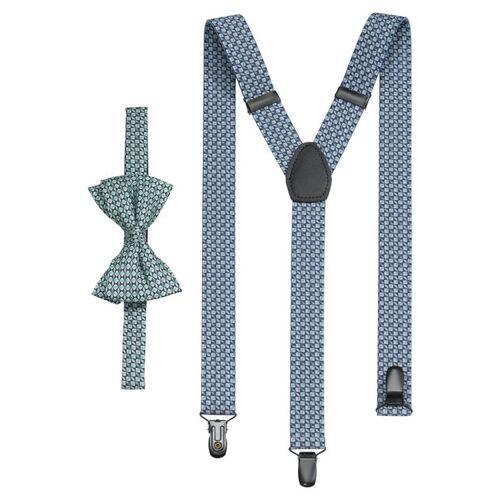 OLYMP Instellen bretels/vlinderdas, Groen  - Size: 2-teilig