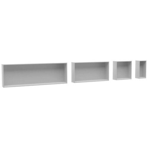 Riho Alcove Ablageboard 30 x 15 x 10 Alcove L: 30 B: 15 H: 10 weiß matt AS10005