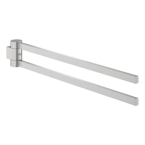 Grohe Selection Handtuchhalter, schwenkbar  schwenkbar supersteel 41063DC0