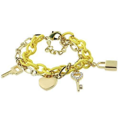 1R Bracelet with charms