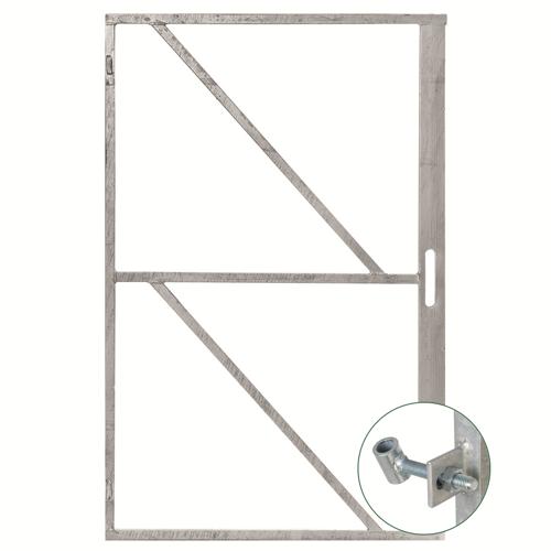 Plusjop IJzeren deurframe met slotkast H200xB100cm
