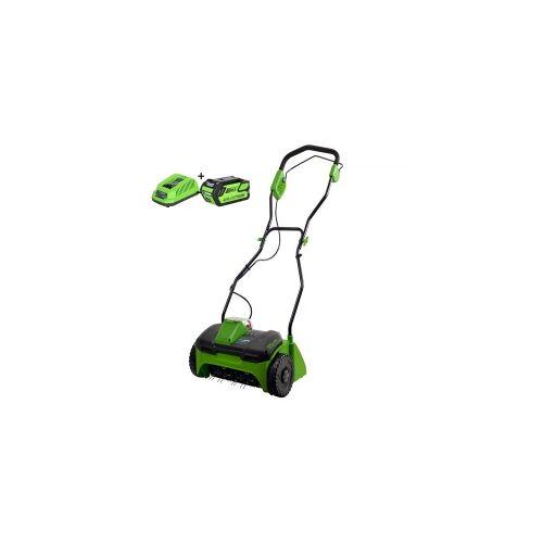 Greenworks Verticuteermachine 40V G40DT35K4