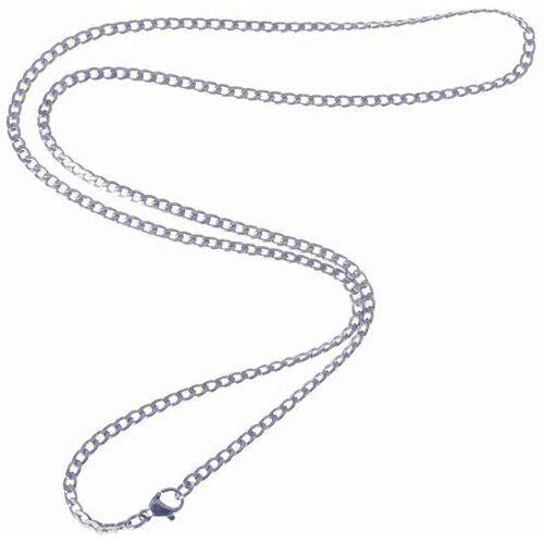LGT Jewels Cubaanse koord ketting Zilver 3mm