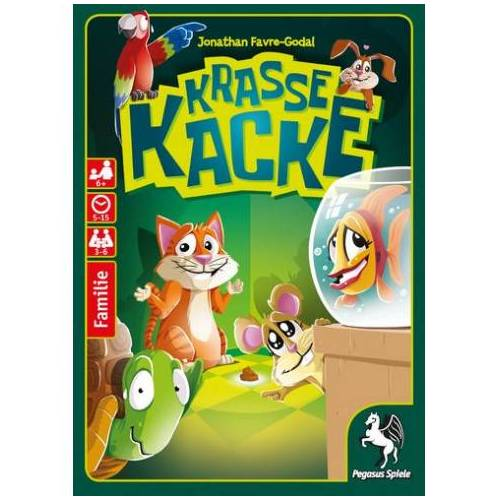 Pegasus Spiele Krasse Kacke