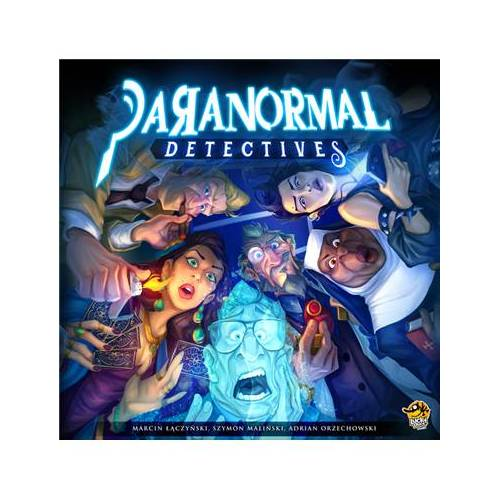 Lucky Duck Games Paranormal Detectives