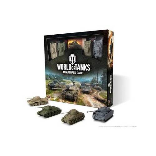 Gale Force Nine World of Tanks Miniature Game