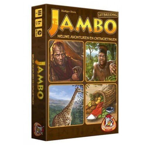 White Goblin Games Jambo: Nieuwe avonturen en ontmoetingen