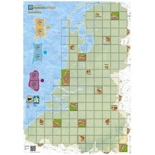 Hans im Gluck Carcassonne Maps: Benelux