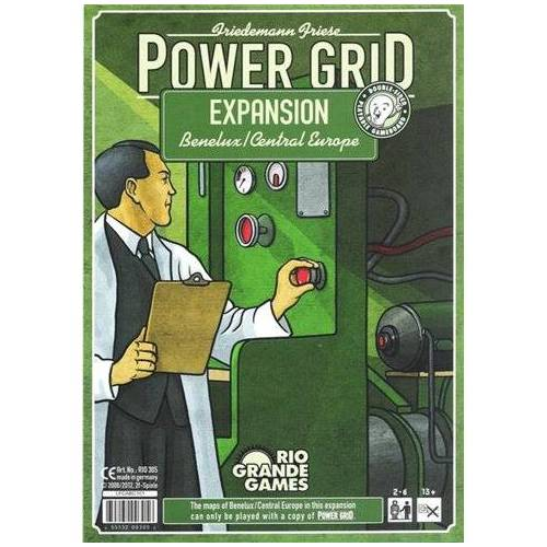 Rio Grande Games Power Grid: Benelux/Central Europe