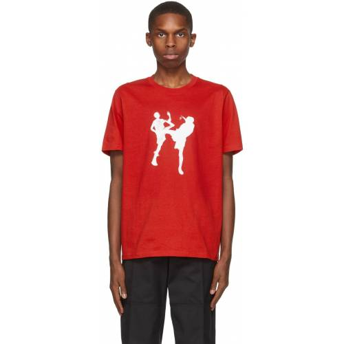Eastwood Danso Red Graphic T-Shirt - L