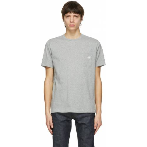A.P.C. Grey Andrew T-Shirt - XS