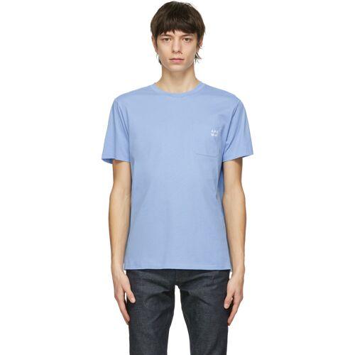A.P.C. Blue Andrew T-Shirt - XXL