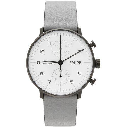 Junghans Grey Max Bill Chronoscope Watch - UNI
