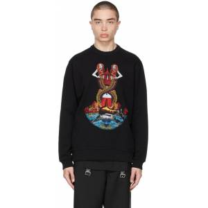 Burberry Black Embroidered Mermaid Sweater - M