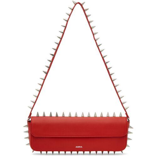 Abra Red Spike Baguette Bag - UNI