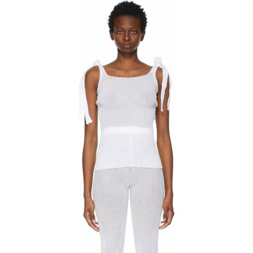 a. roege hove White Ladder Tank Top - XS