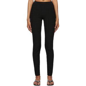 Givenchy Black Jacquard 4G Leggings - 30