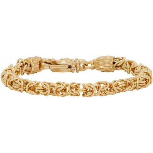 Emanuele Bicocchi Gold Byzantine Bracelet - M