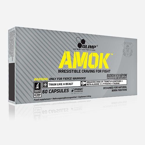 Olimp Supplements Amok - Olimp Supplements - 60 Capsules
