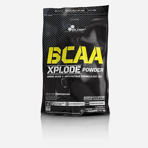 Olimp Supplements BCAA Xplode - Olimp Supplements - Orange - 500 Gram (50 Doseringen)