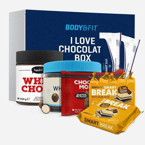 Body & Fit I Love Chocolate Box - Body & Fit - Chocolade - 1 Box