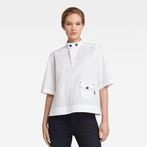 G-Star RAW Dames Swedish Collar Shirt Wit - XXS