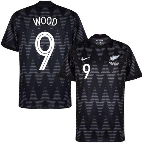Nike Nieuw Zeeland Shirt Uit 2020-2021 + Wood 9 (Fan Style) - M