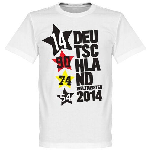 Retake Duitsland 4 Star T-Shirt - XS
