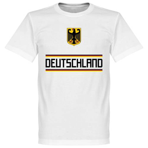 Retake Duitsland Team T-Shirt - Wit - XL