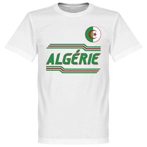 Retake Algerije Team T-Shirt - Wit - XXL