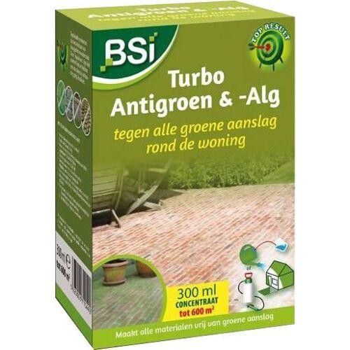 BSI Turbo Antigroen & -alg 300 ml