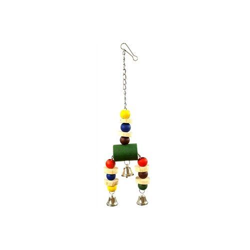 Happy Pet Vogelspeelgoed Jingler Hout