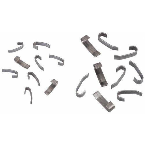 JUNAI 1 kilogram 4 of 6 mm J-clips 1 kilogram 4 mm clips (+/- 1370 clips)
