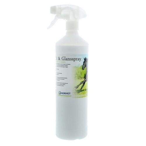 Agrivet Anti klit- en glansspray 1 liter