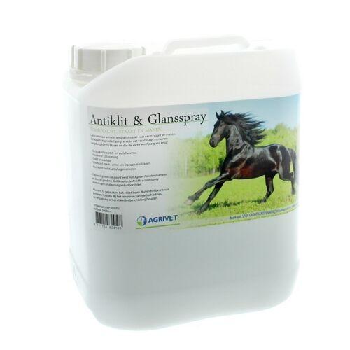 Agrivet Anti klit- en glansspray 5 liter