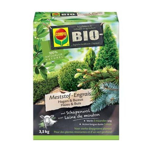 COMPO Bio Hagen en Buxus Meststof 3,5 kg