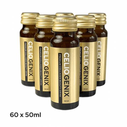 Celiogenix - Premium box (60 flesjes) Premium Alles-in-1 Collageen Beauty Drink