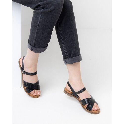 Mexx Sandaal Gedansk Zwart  - Zwart - Size: 41 40 37 38 39 36