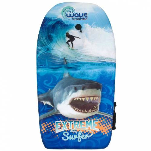 merkloos Bodyboard Shark 83cm