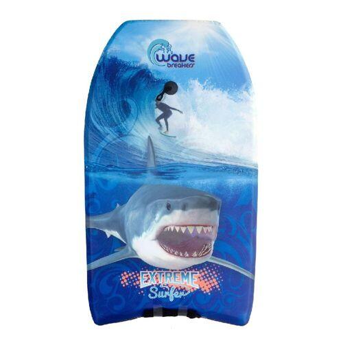 merkloos Bodyboard Shark 93cm