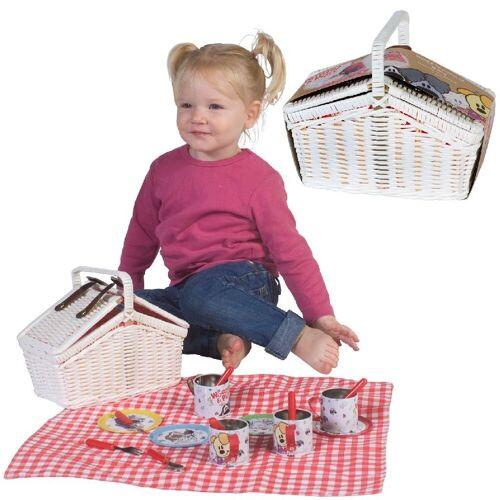 Rubo Toys Woezel en Pip Picknickset Tin